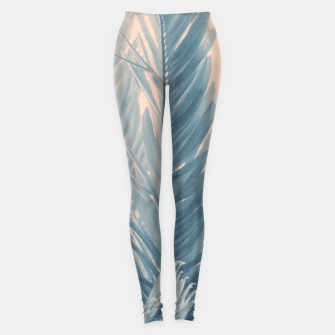 Miniaturka Tropical Leaves Dream #4.1 #tropical #decor #art  Leggings, Live Heroes