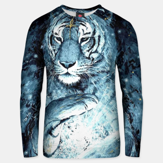 Thumbnail image of Painted Tiger Unisex sweater, Live Heroes