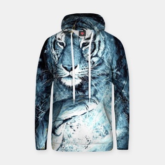 Thumbnail image of Painted Tiger Hoodie, Live Heroes