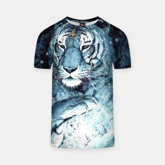 Thumbnail image of Painted Tiger T-shirt, Live Heroes