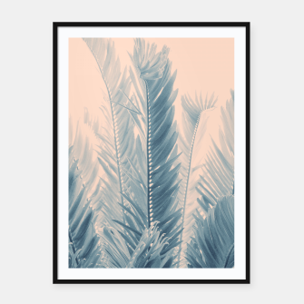 Thumbnail image of Tropical Leaves Dream #4.1 #tropical #decor #art  Plakat mit rahmen, Live Heroes