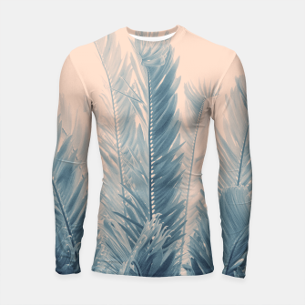 Thumbnail image of Tropical Leaves Dream #4.1 #tropical #decor #art  Longsleeve rashguard, Live Heroes