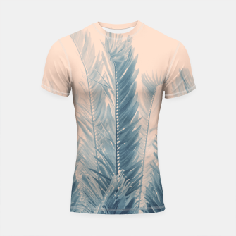 Thumbnail image of Tropical Leaves Dream #4.1 #tropical #decor #art  Shortsleeve rashguard, Live Heroes