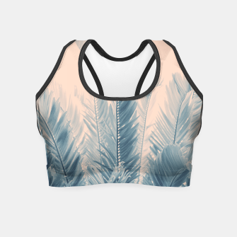 Thumbnail image of Tropical Leaves Dream #4.1 #tropical #decor #art  Crop Top, Live Heroes