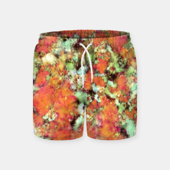Thumbnail image of Cascading time Swim Shorts, Live Heroes