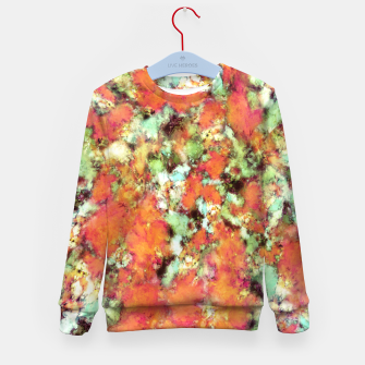 Thumbnail image of Cascading time Kid's sweater, Live Heroes