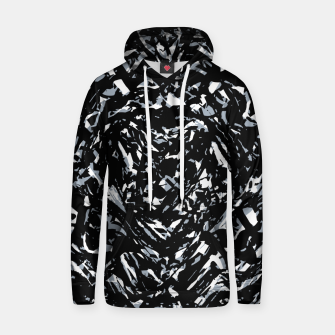 Thumbnail image of Dark Abstract Print Hoodie, Live Heroes