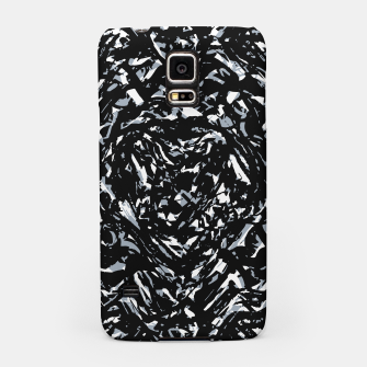 Dark Abstract Print Samsung Case obraz miniatury