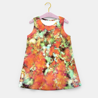 Thumbnail image of Cascading time Girl's summer dress, Live Heroes