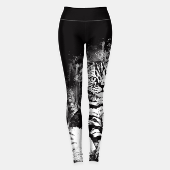 Miniature de image de cat sitting like human ws bw Leggings, Live Heroes
