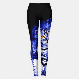Miniature de image de cat sitting like human ws db Leggings, Live Heroes