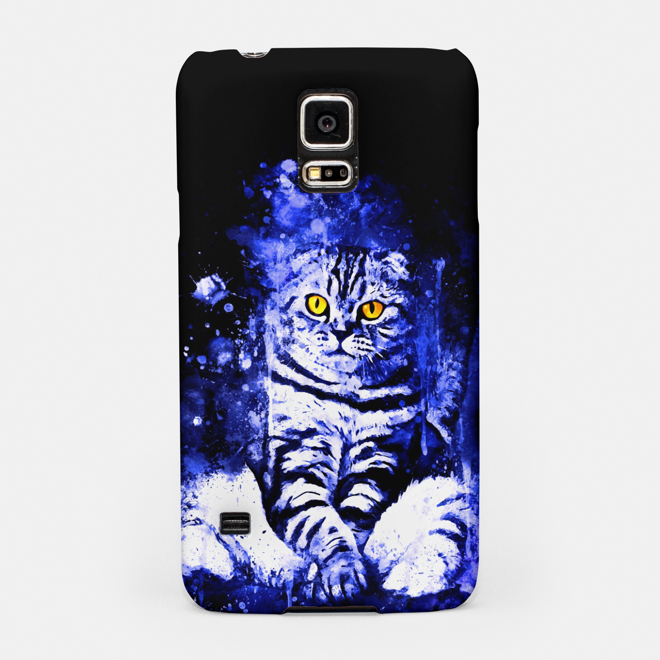 Image de cat sitting like human ws db Samsung Case - Live Heroes