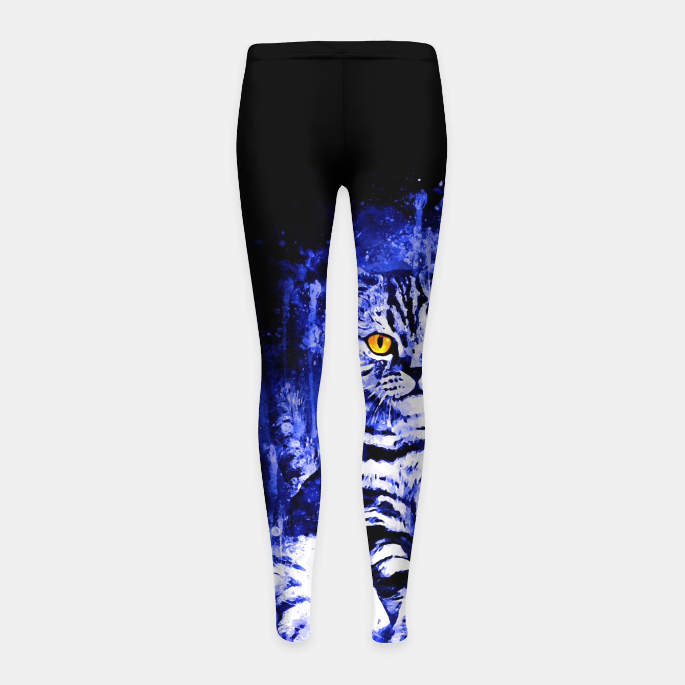 Image de cat sitting like human ws db Girl's leggings - Live Heroes
