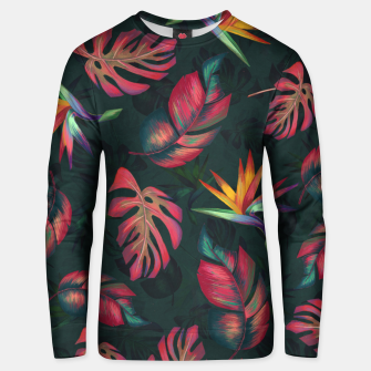 Miniatur Tropical Pattern #2 Unisex sweater, Live Heroes