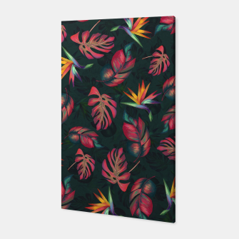 Miniatur Tropical Pattern #2 Canvas, Live Heroes