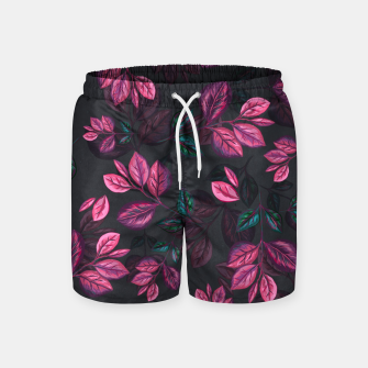 Miniatur Leaves pattern #1 Swim Shorts, Live Heroes