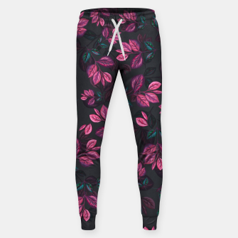 Miniatur Leaves pattern #1 Sweatpants, Live Heroes