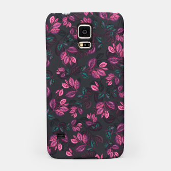 Miniatur Leaves pattern #1 Samsung Case, Live Heroes
