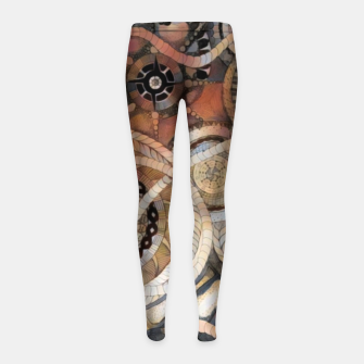Miniatur Time-Shift Girl's leggings, Live Heroes