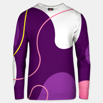 Thumbnail image of Abstract shapes composition modern design Unisex sweater, Live Heroes