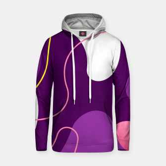 Thumbnail image of Abstract shapes composition modern design Hoodie, Live Heroes