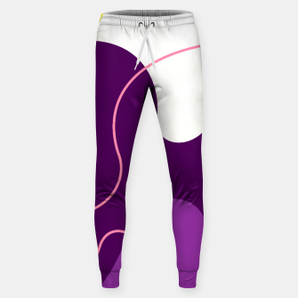 Thumbnail image of Abstract shapes composition modern design Sweatpants, Live Heroes