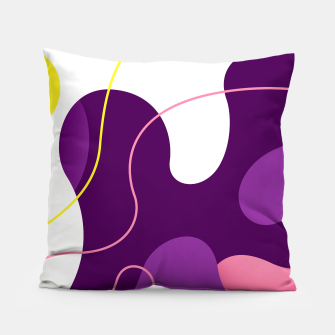 Thumbnail image of Abstract shapes composition modern design Pillow, Live Heroes