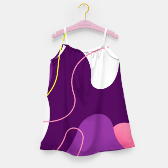 Thumbnail image of Abstract shapes composition modern design Girl's dress, Live Heroes