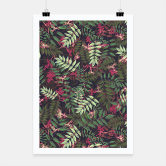 Miniatur Floral Pattern #1 Poster, Live Heroes