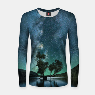 Thumbnail image of Tree Stars Women sweater, Live Heroes
