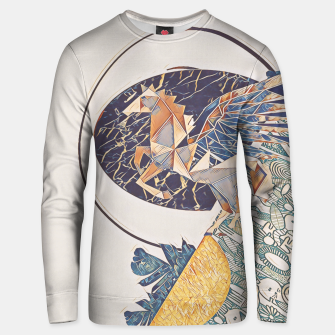 Thumbnail image of Marble pegasus Unisex sweater, Live Heroes