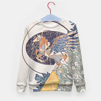 Thumbnail image of Marble pegasus Kid's sweater, Live Heroes