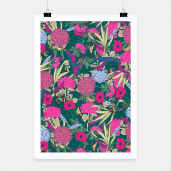 Miniatur Floral Pattern #2 Poster, Live Heroes
