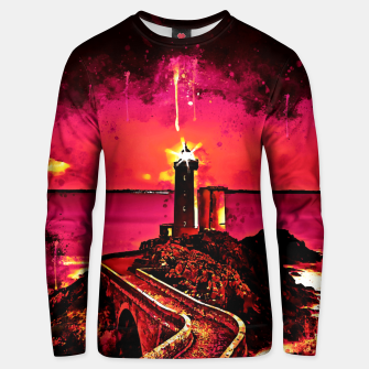 Thumbnail image of lighthouse plouzane wsor Unisex sweater, Live Heroes