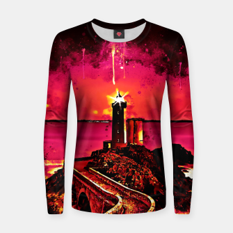 Miniature de image de lighthouse plouzane wsor Women sweater, Live Heroes