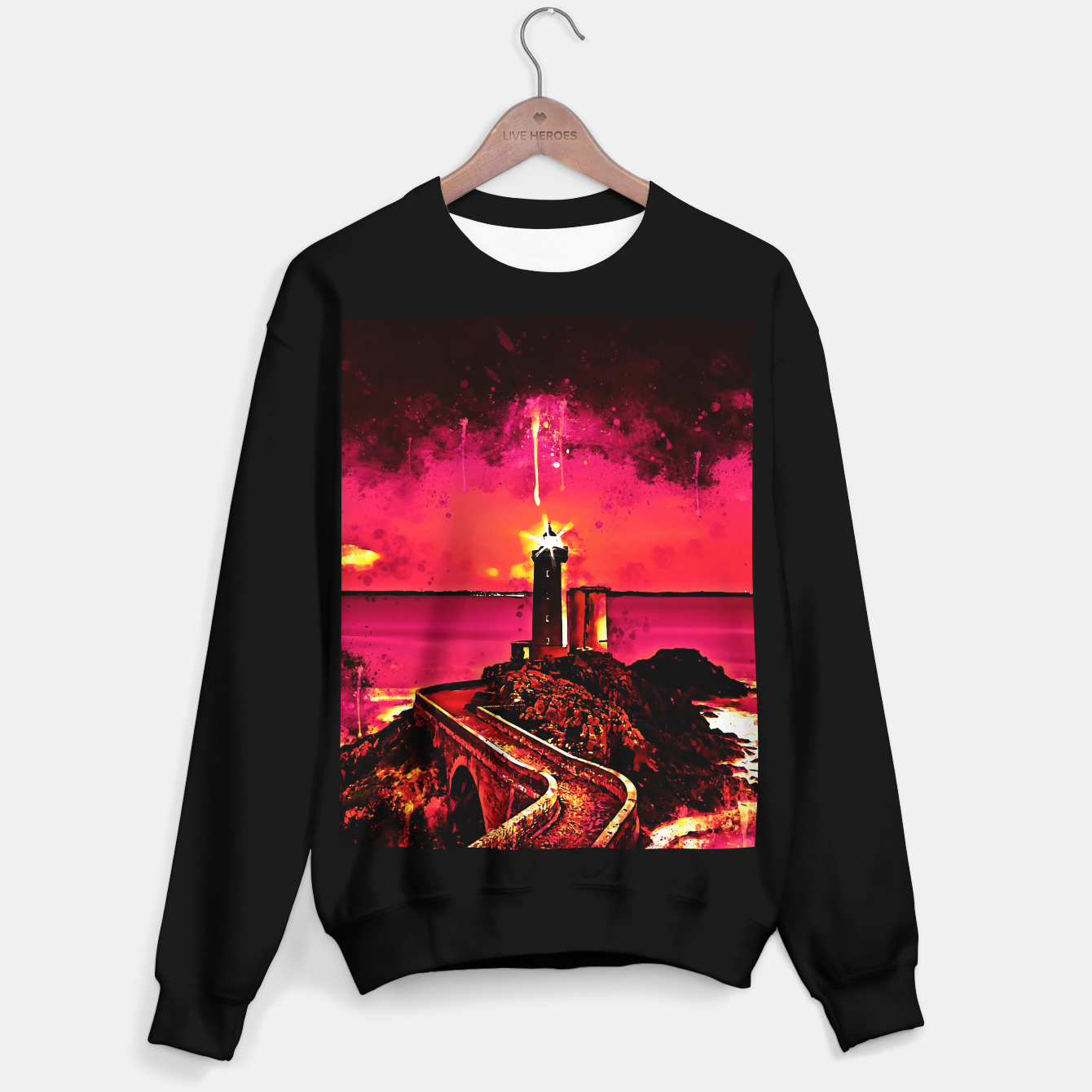 Image of lighthouse plouzane wsor Sweater regular - Live Heroes