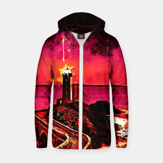 Thumbnail image of lighthouse plouzane wsor Zip up hoodie, Live Heroes
