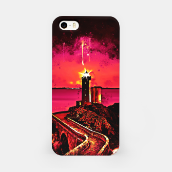 Miniature de image de lighthouse plouzane wsor iPhone Case, Live Heroes
