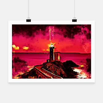 Thumbnail image of lighthouse plouzane wsor Poster, Live Heroes