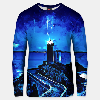 Thumbnail image of lighthouse plouzane wsstd Unisex sweater, Live Heroes