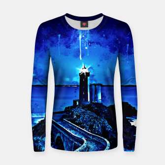 Miniature de image de lighthouse plouzane wsstd Women sweater, Live Heroes