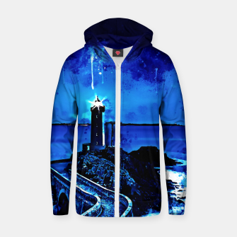 Thumbnail image of lighthouse plouzane wsstd Zip up hoodie, Live Heroes