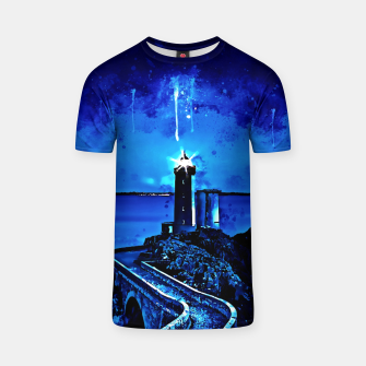 Thumbnail image of lighthouse plouzane wsstd T-shirt, Live Heroes