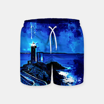 Miniature de image de lighthouse plouzane wsstd Swim Shorts, Live Heroes