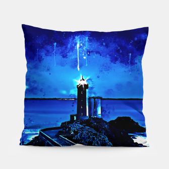 Thumbnail image of lighthouse plouzane wsstd Pillow, Live Heroes