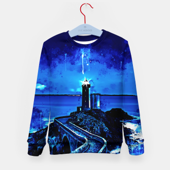 Miniature de image de lighthouse plouzane wsstd Kid's sweater, Live Heroes