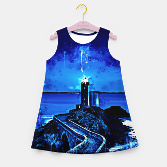 Miniature de image de lighthouse plouzane wsstd Girl's summer dress, Live Heroes