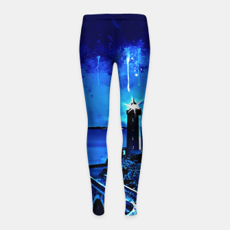 Miniature de image de lighthouse plouzane wsstd Girl's leggings, Live Heroes