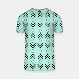Thumbnail image of Tribal Pattern Aztec #3 #minimal #decor #art  T-Shirt, Live Heroes