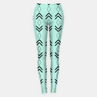 Thumbnail image of Tribal Pattern Aztec #3 #minimal #decor #art  Leggings, Live Heroes